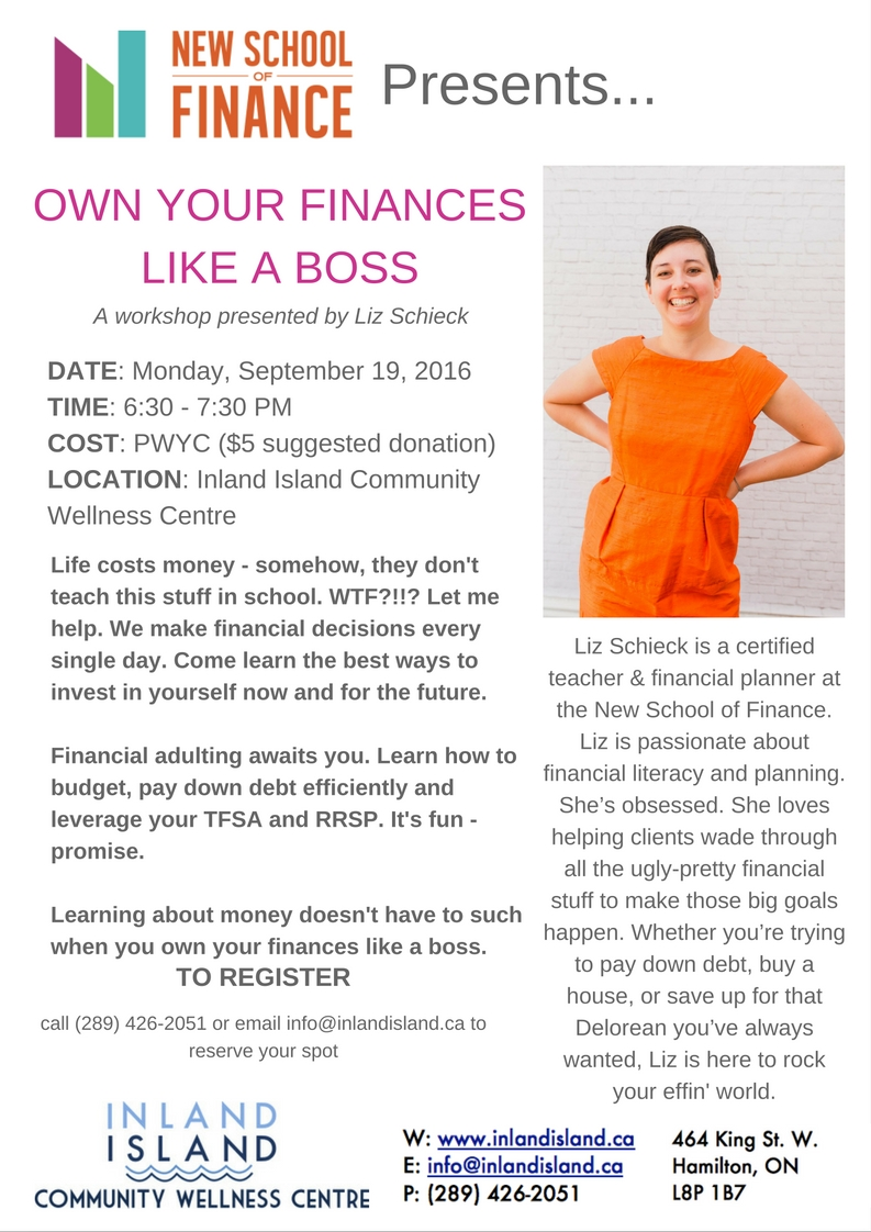 Own your finances like a boss with financial planner Liz Schieck