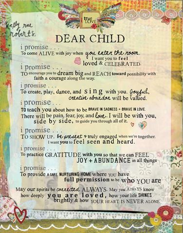 Dear Child Manifesto