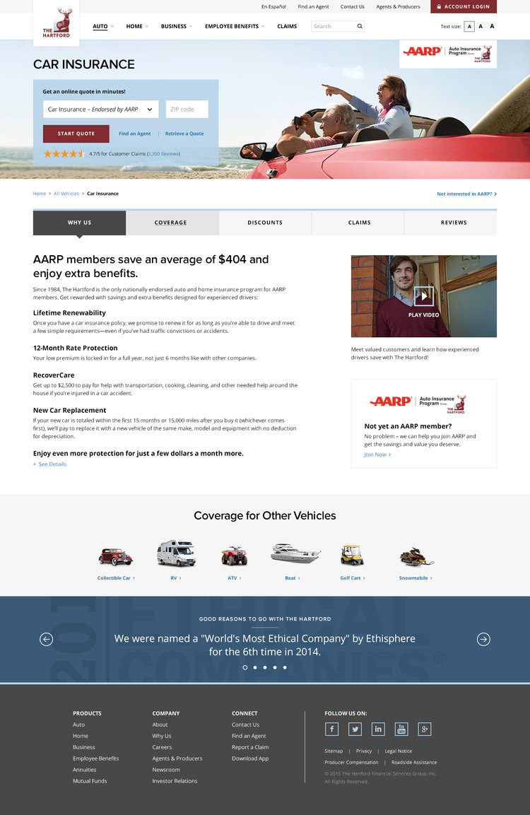Aarp Car Insurance Quote Aarp Hartford Homeowners Insurance Quote  44Billionlater