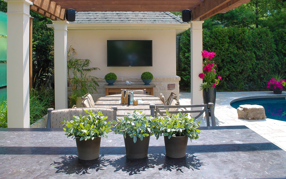 Outdoor TV
