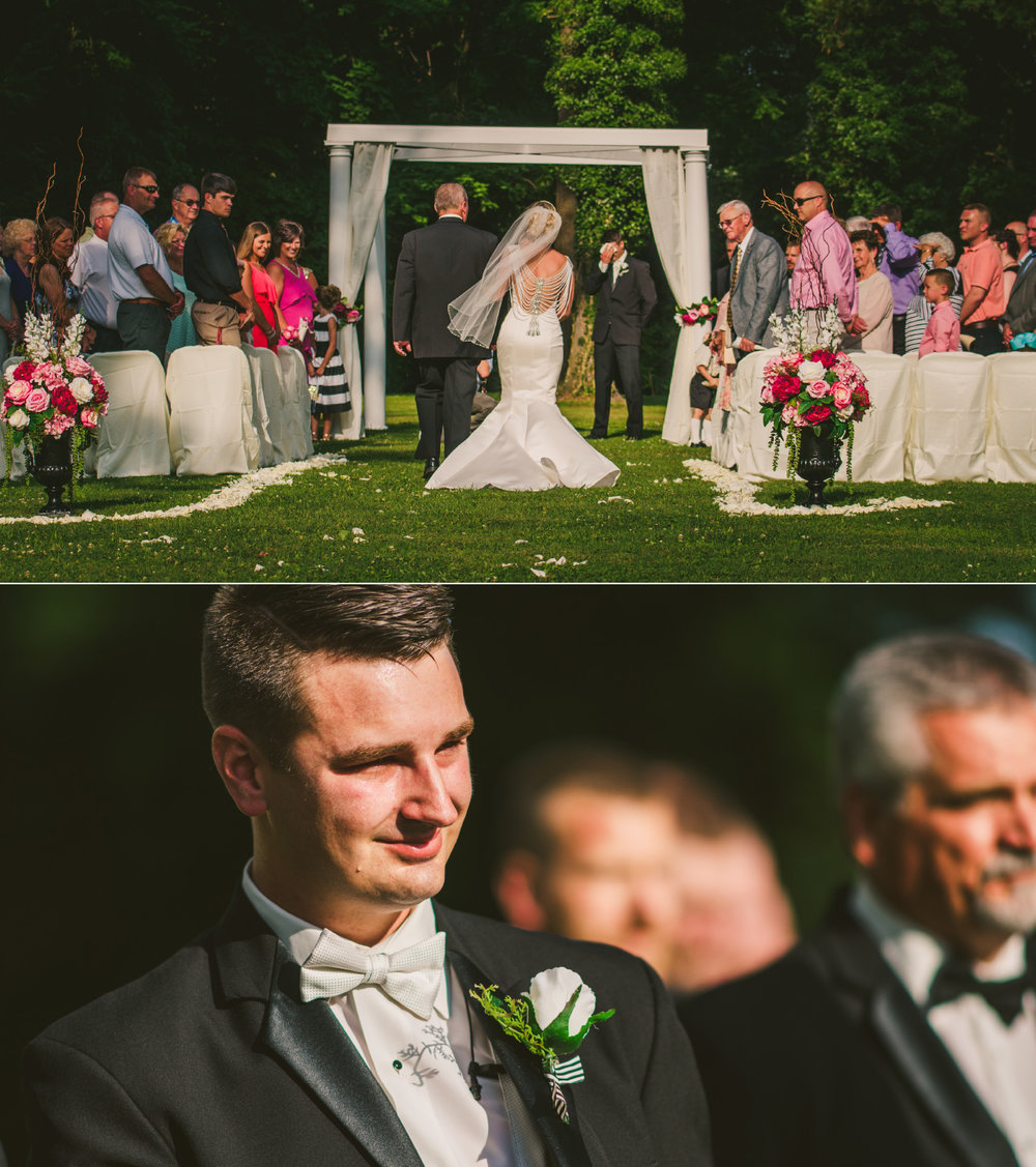 Hundred Mile House Wedding Ceremony