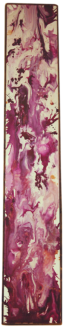 "PURPLE LAKE • (08"" x 48"")"
