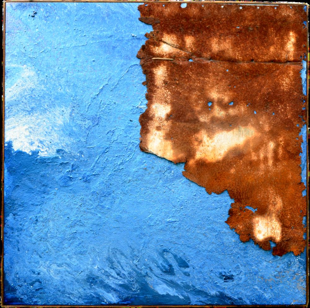 """BLUE WHALE • (48"""" x 48"""")"""