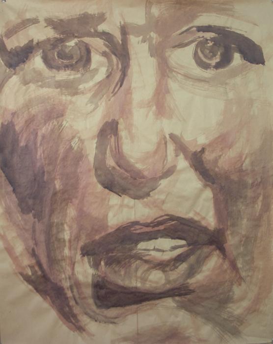 Face 1 sketch