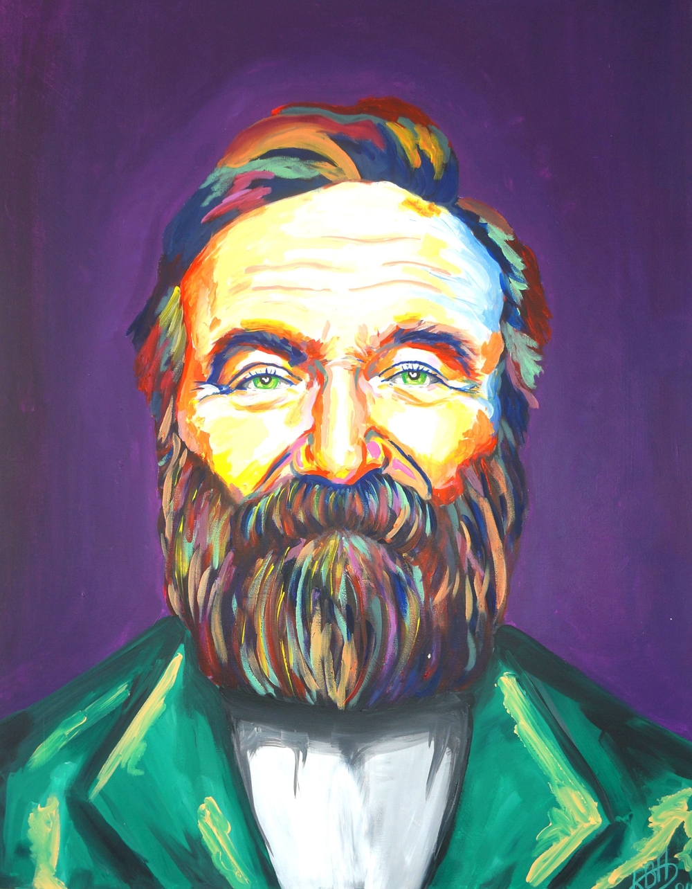 Robin Williams (70 cm x 90 cm) - sold