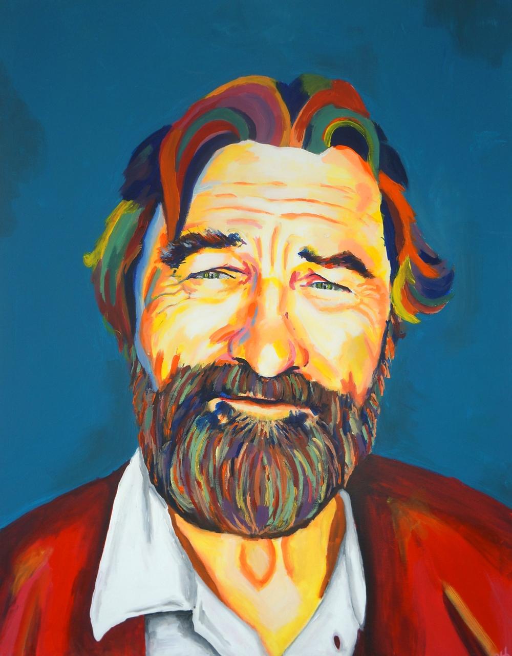 Robert De Niro (70 cm x 90 cm) - 7.000,- DKK