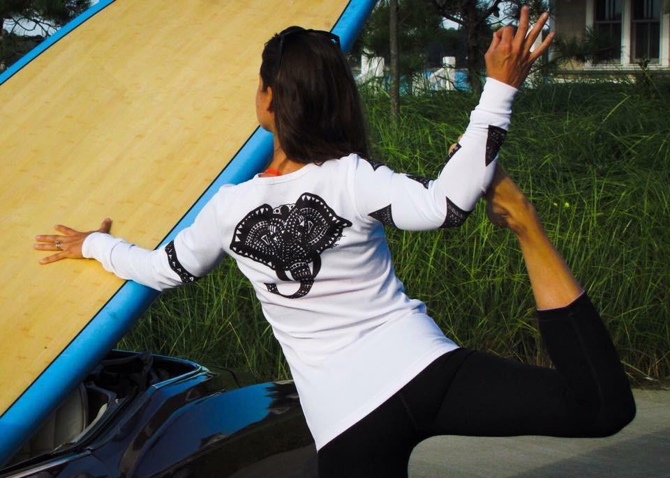 Yoga-Paddle-Board