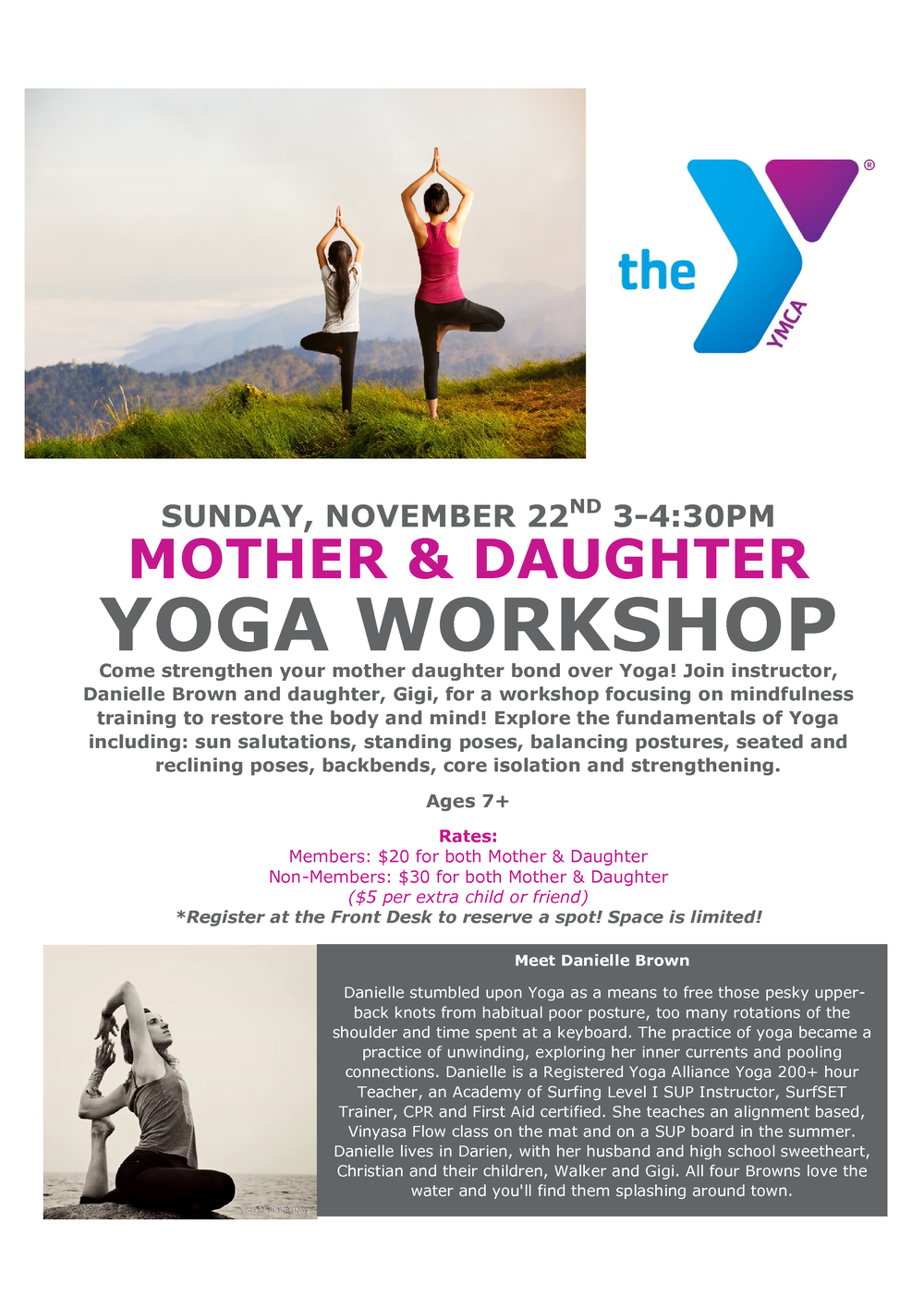 girls-moms-yoga-danielle-brown-ymca
