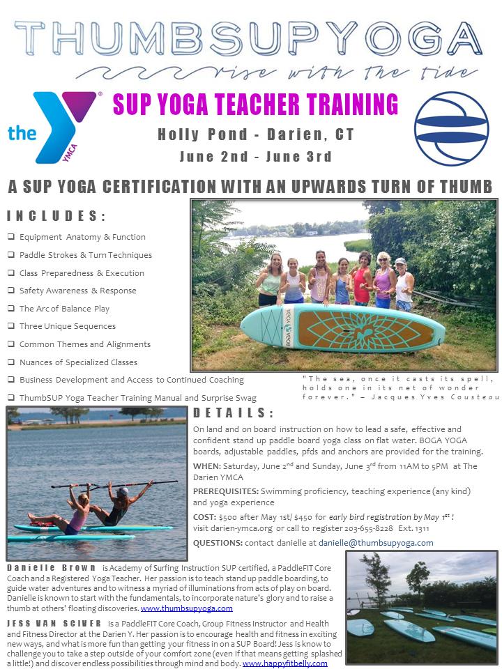 Sup Yoga Teacher Training Thumbsup Yoga