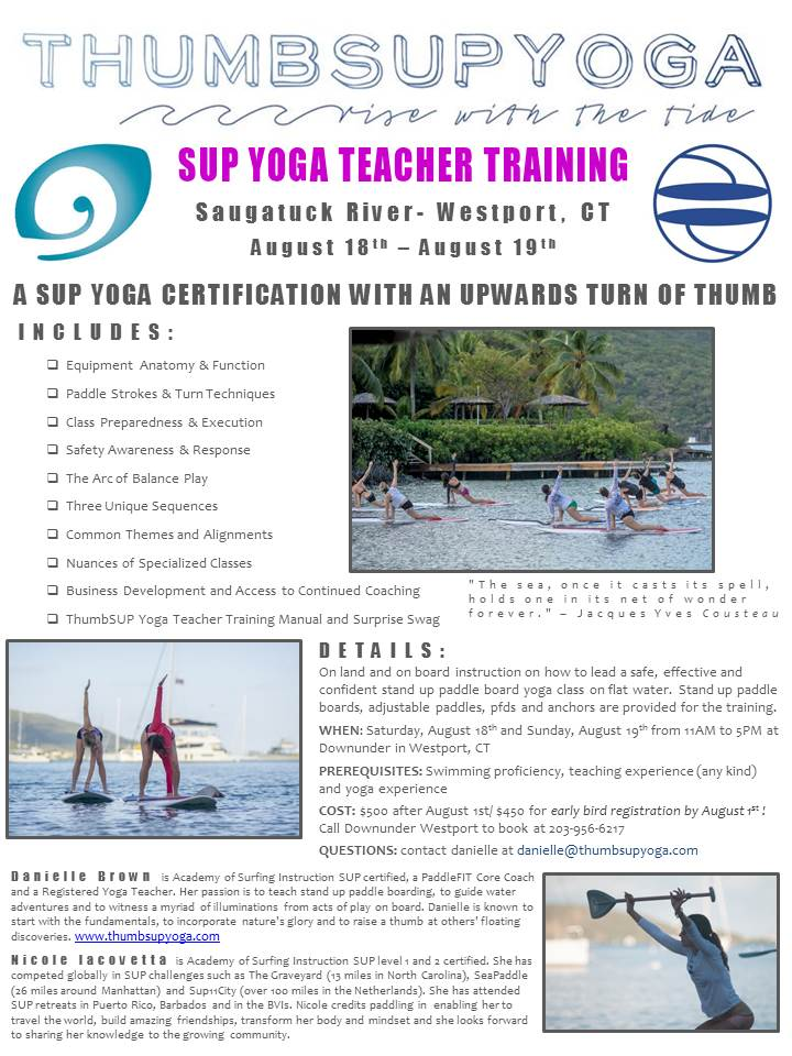 SUP Yoga TT Westport CT