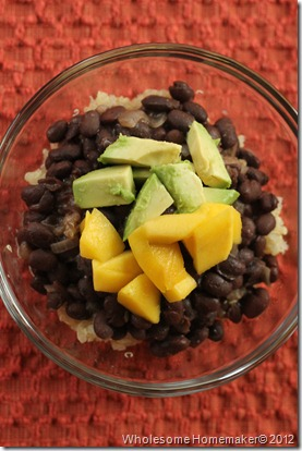 coconut black beans