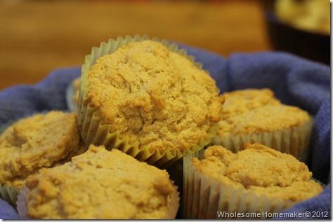 Sour cream muffins 2