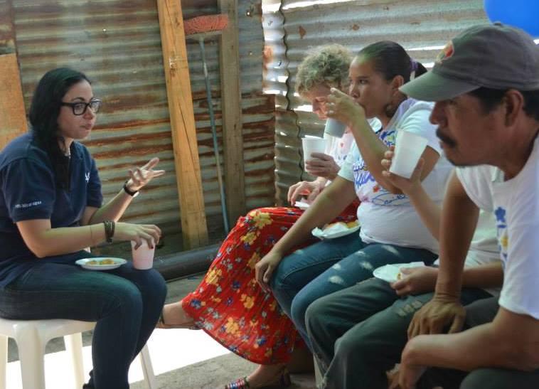 Christina at VG Clinic Opening with Austin Samaritans.jpg