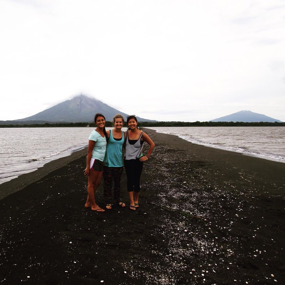 THEN:  Carissa and other Nicaragua PDs during her time as a Program Director