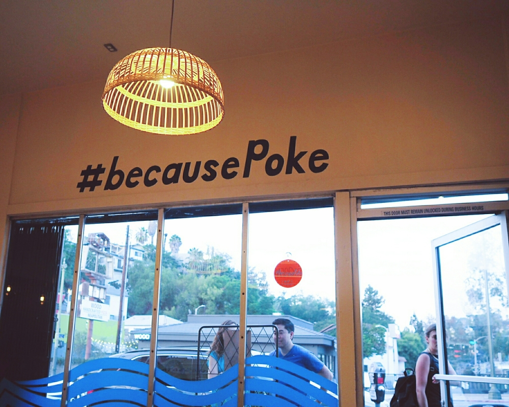 #becausePoke