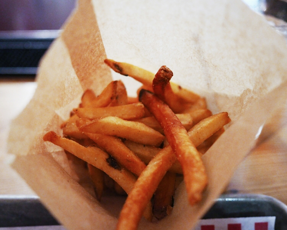 side of fries.