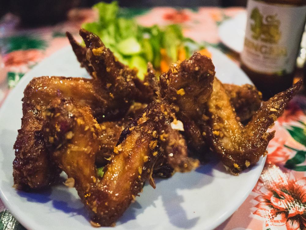 ike's vietnamese fish sauce wings.
