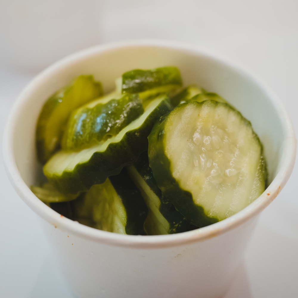 extra order of pickles.