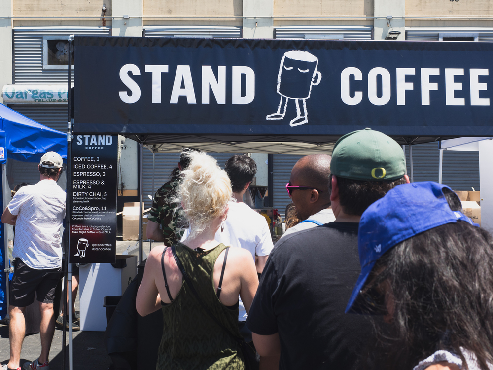 stand coffee .