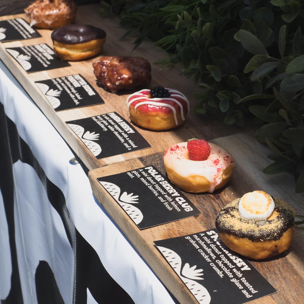 donut friend 's mini donuts.