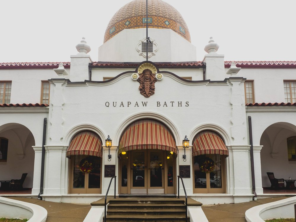 quapaw baths.