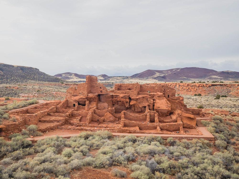 wupatki pueblo.