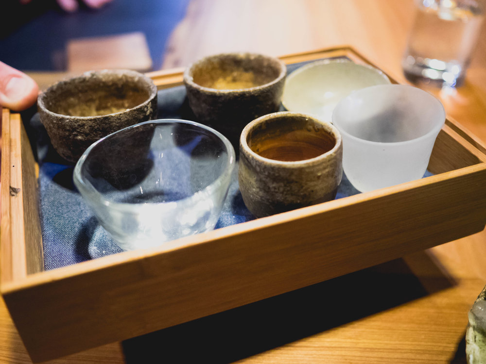 pick-your-own sake cup.