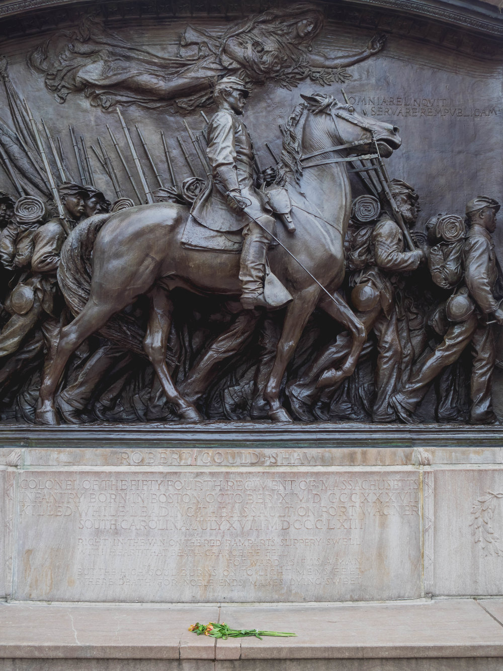 robert gould shaw memorial.