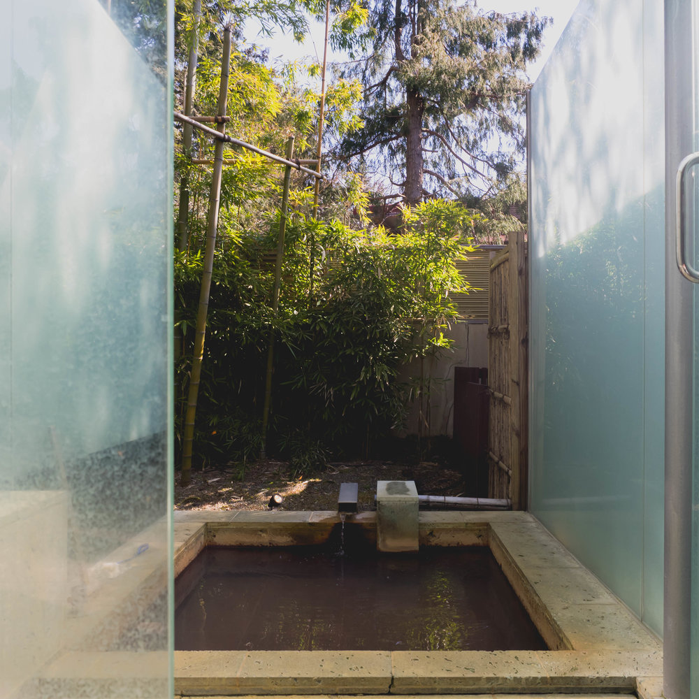 our private onsen!