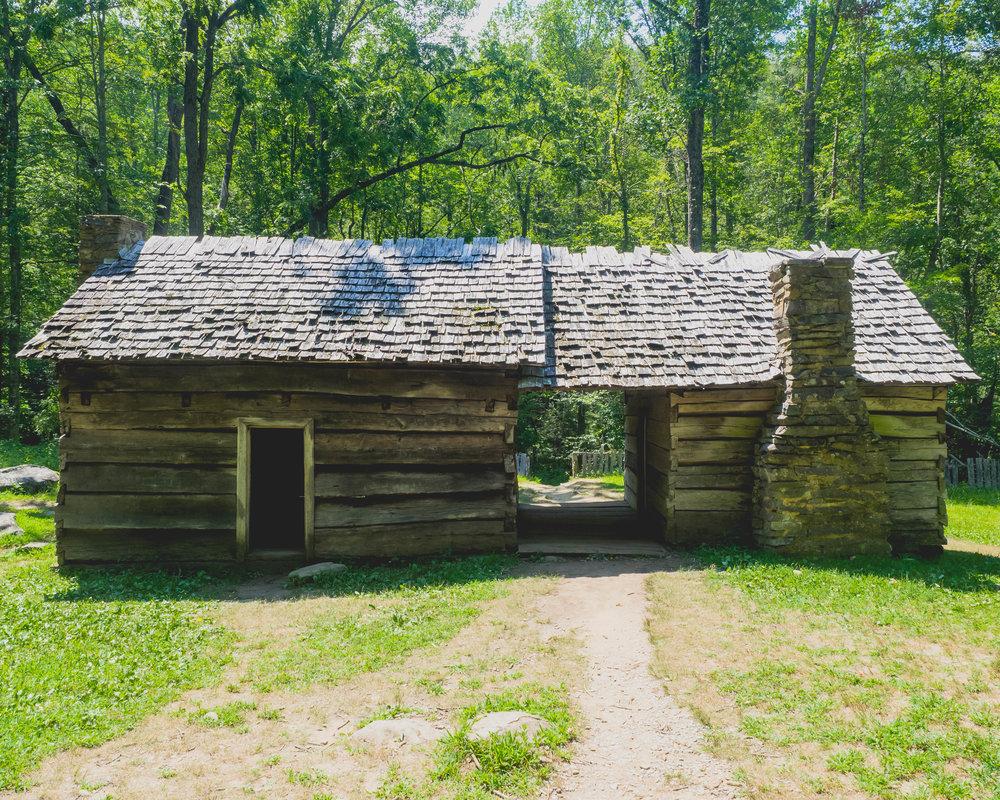 ephraim bales cabin.