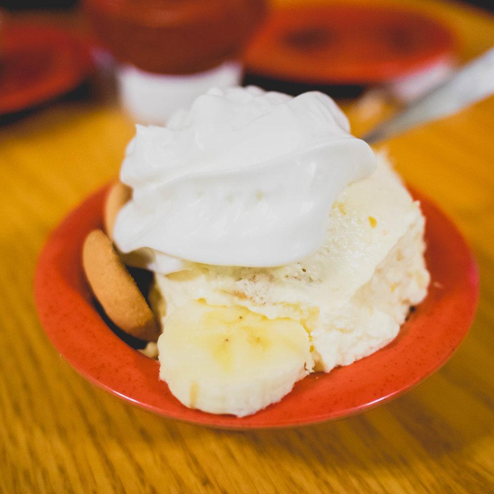 banana puddin'.