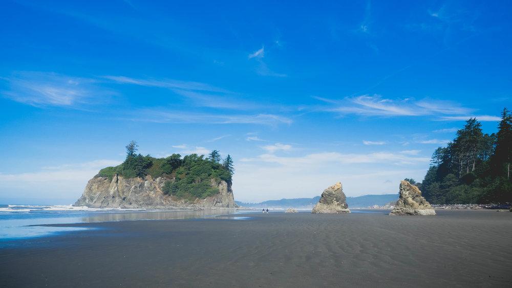 ruby beach .