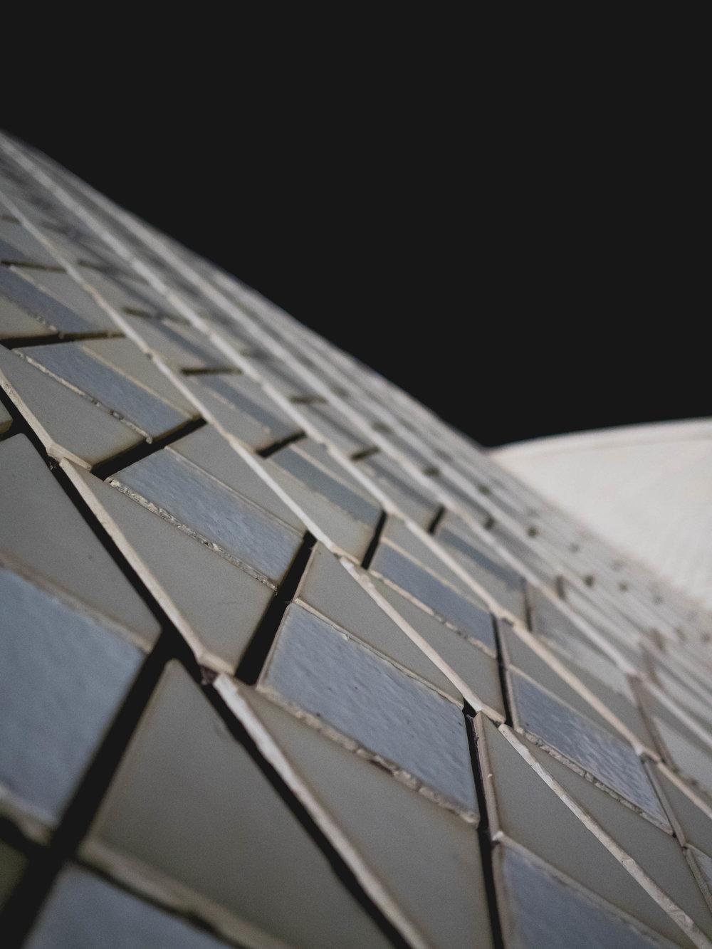 opera house tile.