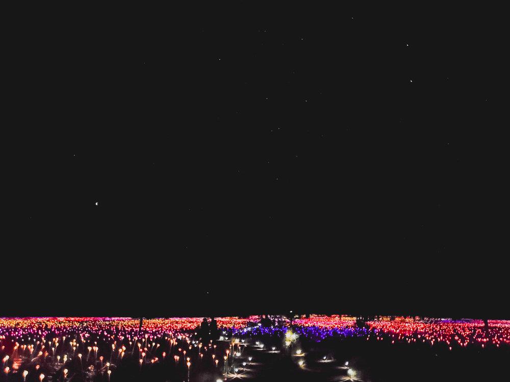 field of light.