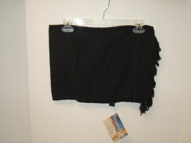 Sarong: Black- 12 per case