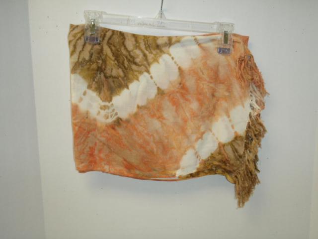 Sarong: Tye Dye W/ Embroidery- 72 per case