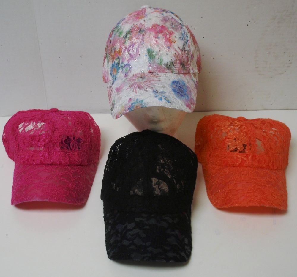 LACE BASEBALL CAP