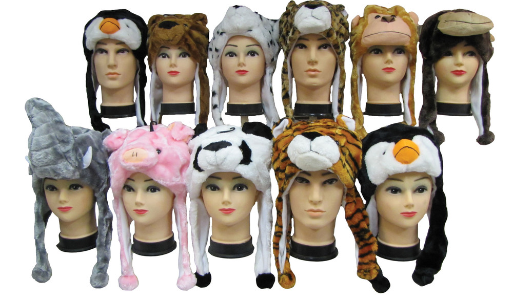ANIMAL HAT SHORT - 42 PER CASE