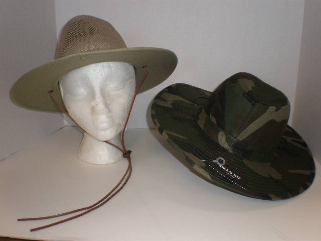 HAT OUTDOORSMEN HARD (STIFF)