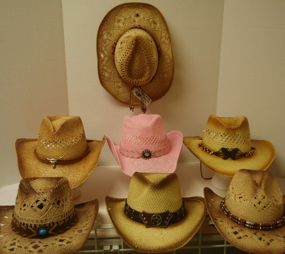 STRAW HATS ASSORTED