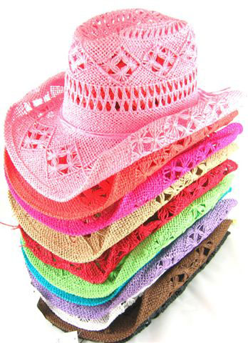 HAT CROTCHET ASSORTED COLORS