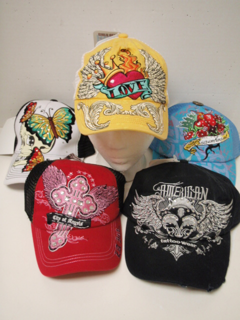 WOMEN'S TATTOO HAT