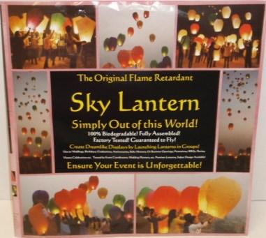 Sky Lantern - 24 per case