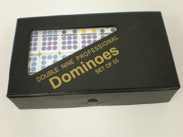 Domino: Double Nine In A Case - 12 per case