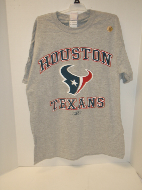 TEXANS: MENS SHIRT GREY