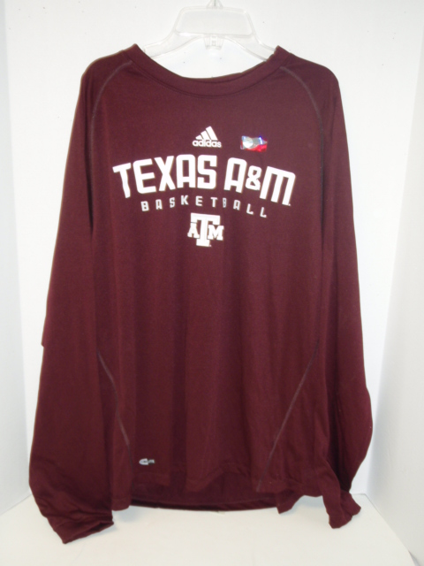 Texas A&M Long Sleeve Shirt Maroon