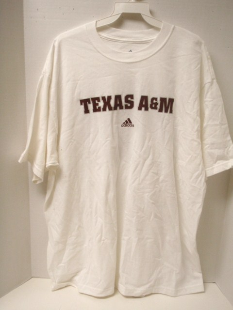 Texas A&M Shirt White