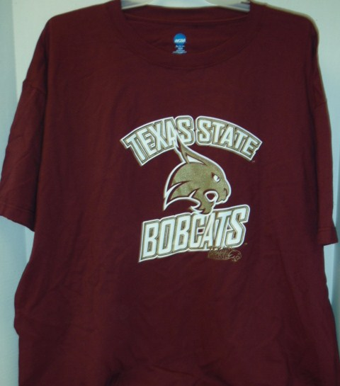 TX State Shirt- Maroon