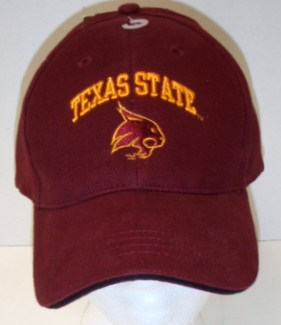 TX State Hat- Maroon