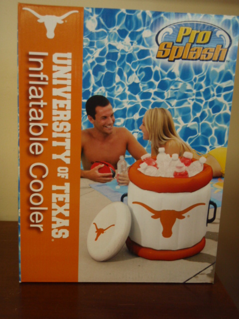 LONGHORNS: INFLATABLE ICE CHEST LIMITED QUANTITIES AVAILABLE